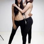 Thái Hà nude cùng giàn mẫu Venus