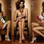 Người mẫu khỏa thân trên tạp chí Vanity Fair