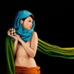 Đường cong tuyệt mỹ trong tranh Carlos Oviedo