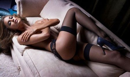 Bồ Ronaldo bán nude gợi cảm