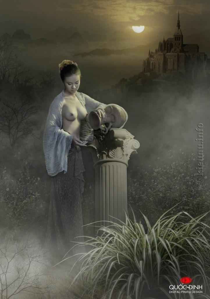ảnh nudeThiếu nữ ngực to và màn đêm