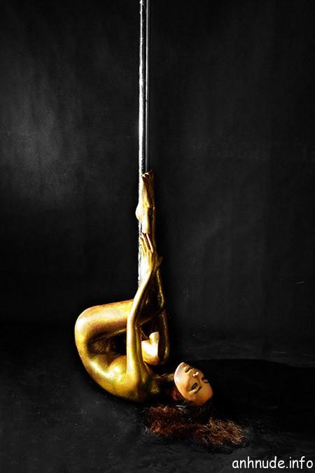 Đỉnh cao của múa cột nghệ thuật 1